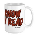 Now I Know You Can Read Large Mug