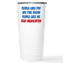 People Like You... Stainless Steel Travel Mug