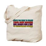 People Too Weak Tote Bag