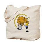 Don't Monkey Around Tote Bag