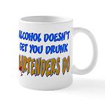 Alcohol Doesn't Get You Drunk Mug