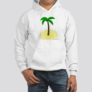 Palm Tree Tropics Hooded Sweatshirt