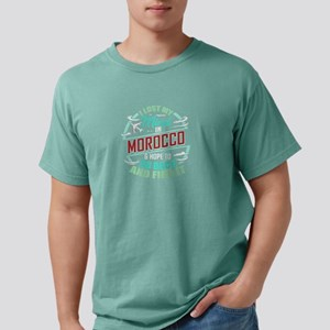 Moroccan Flag | I Lost My Mind in Morocco T-Shirt