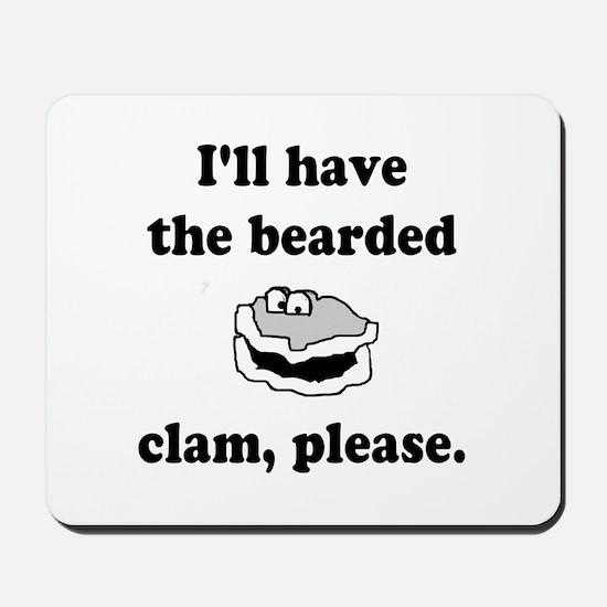 Bearded Clam Mousepad