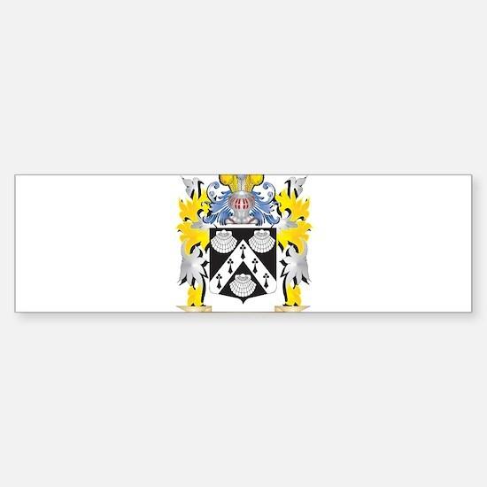Judge Coat of Arms - Family Crest Bumper Bumper Bumper Sticker