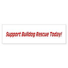 Bulldog Rescue Bumper Sticker
