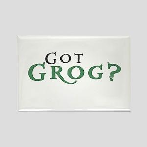 Got Grog? Rectangle Magnet