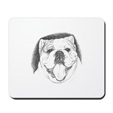 Pencil Portrait Mousepad