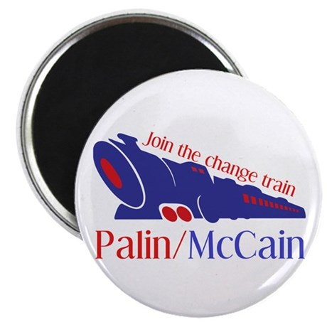 "McCain Train 2.25"" Magnet (10 pack)"