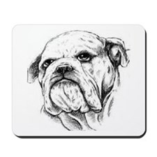 Drawn Head Mousepad