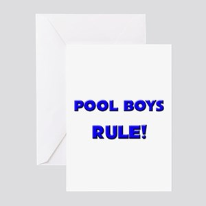 Pool Boys Rule! Greeting Cards (Pk of 10)