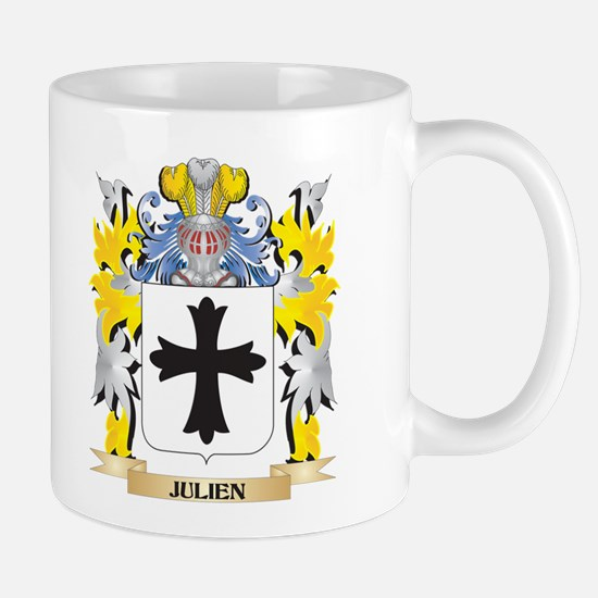 Julien Coat of Arms - Family Crest Mugs