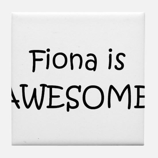 Cute Fiona Tile Coaster