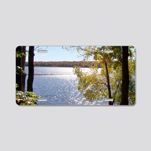 nature scenery Aluminum License Plate