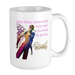 Lesbian Dryads Large Mug