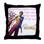 Lesbian Dryads Throw Pillow