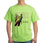 Lesbian Dryads Green T-Shirt