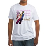 Lesbian Dryads Fitted T-Shirt