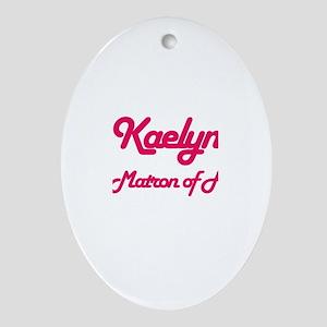 Kaelyn - Matron of Honor Oval Ornament