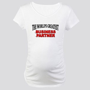 """The World's Greatest Claims Adjuster"" Maternity T"