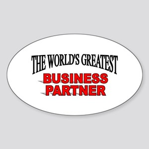 """The World's Greatest Claims Adjuster"" Sticker (Ov"