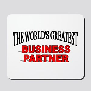 """The World's Greatest Claims Adjuster"" Mousepad"