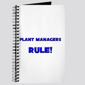 Plant Managers Rule! Journal