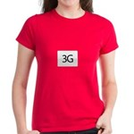 Apple iPhone 3G Women's Dark T-Shirt