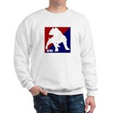 Major league pitbull Crewneck Sweatshirts