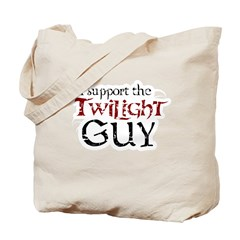 I Support The Twilight Guy Tote Bag