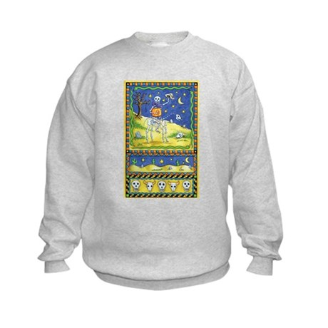 Cowboy Skeleton Kids Sweatshirt