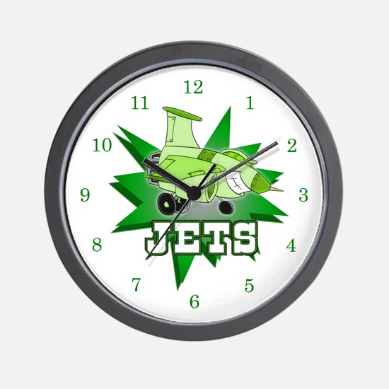 Jets Wall Clock