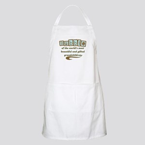 Bubbie of Gifted Grandchildren BBQ Apron
