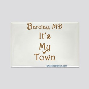 Barclay It's My Town Rectangle Magnet