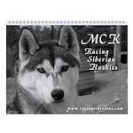 MCK Black & White Wall Calendar