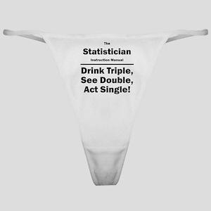 Statistician Classic Thong