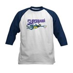SUPERRABBI Kids Baseball Jersey