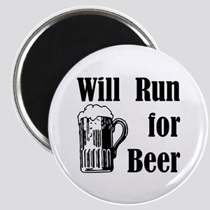 Will Run for Beer Magnet