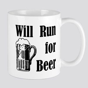 Will Run for Beer Mug