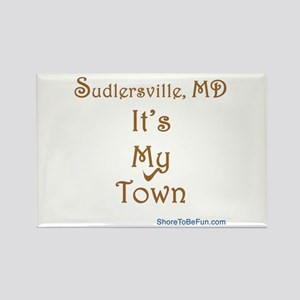 Sudlersville It's My Town Rectangle Magnet