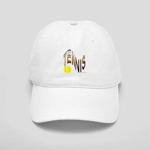wavy tennis Cap
