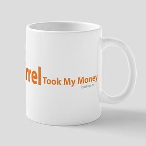 oddFrogg Squirrel Poker Mug
