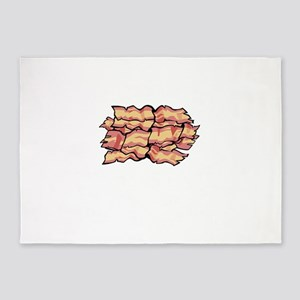Snaccident Bacon Mistake Definition 5'x7'Area Rug