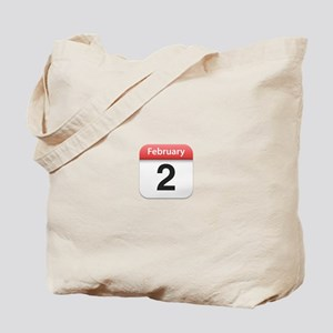 Apple iPhone Calendar February 2 Tote Bag