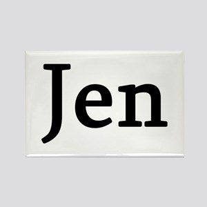 Jen - Personalized Rectangle Magnet