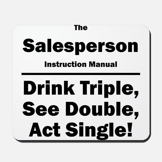 Salesperson Mousepad