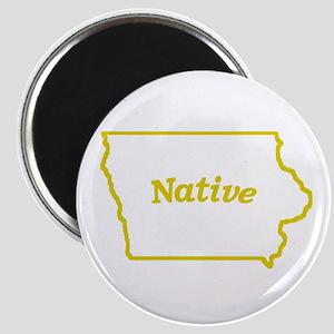 Iowa Native Magnet