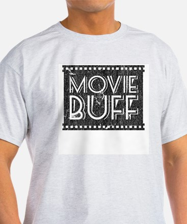 Movie Buff Ash Grey T-Shirt