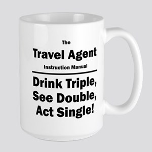 Travel Agent Large Mug