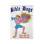 BIBLE DOGS Rectangle Magnet